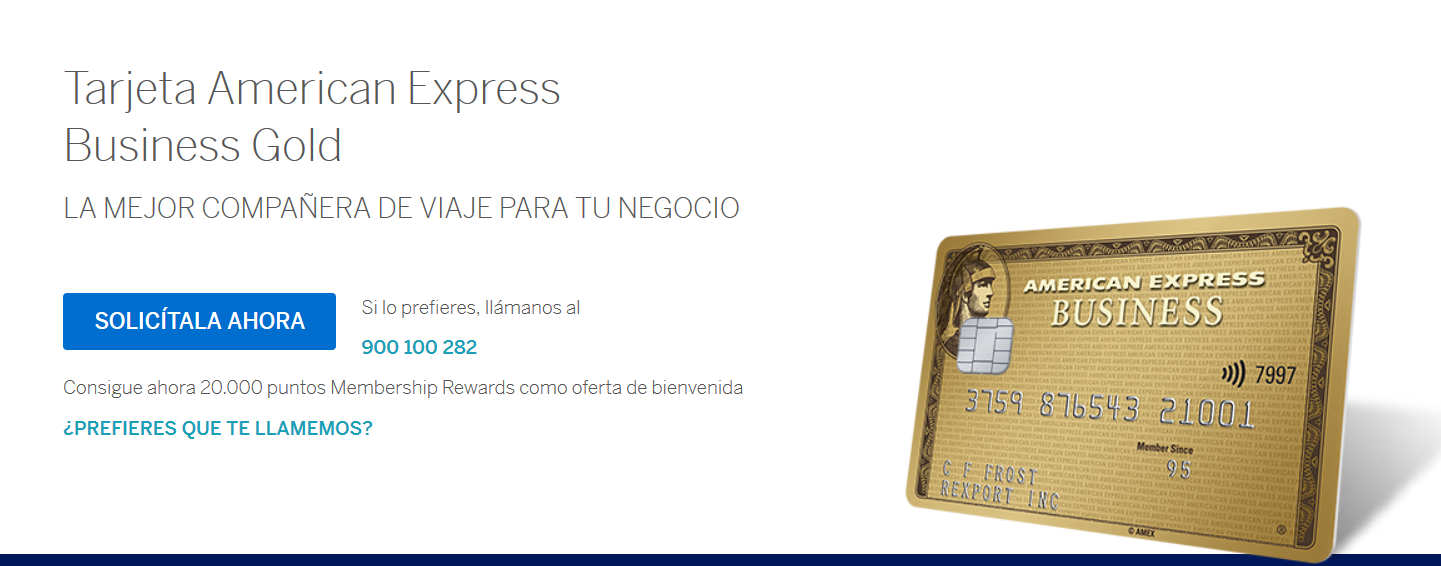 American Express Business Gold